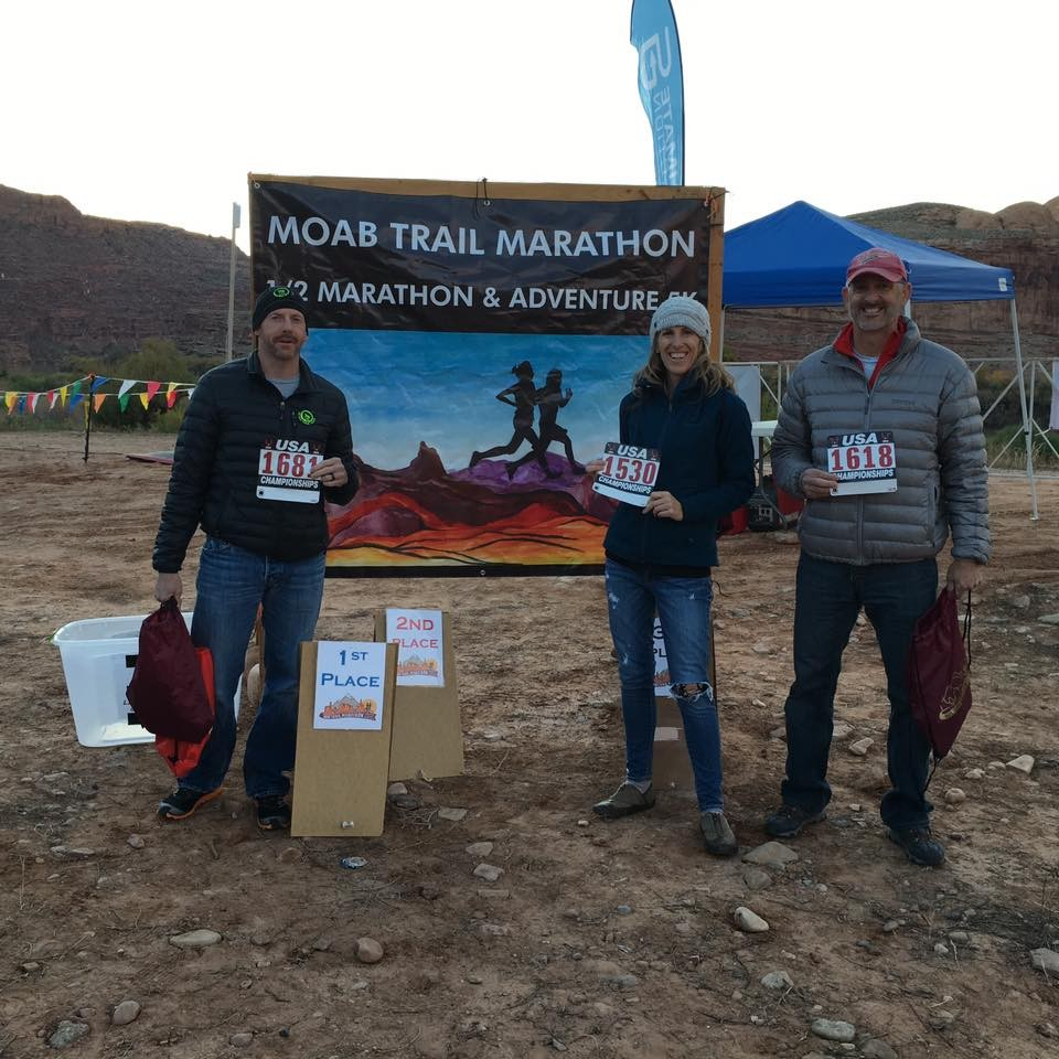 Moab Trail Marathon Race Report and my experience: