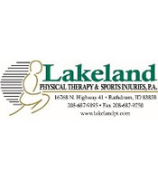 Trail Maniacs Sponsor Lakeland Physical Therapy